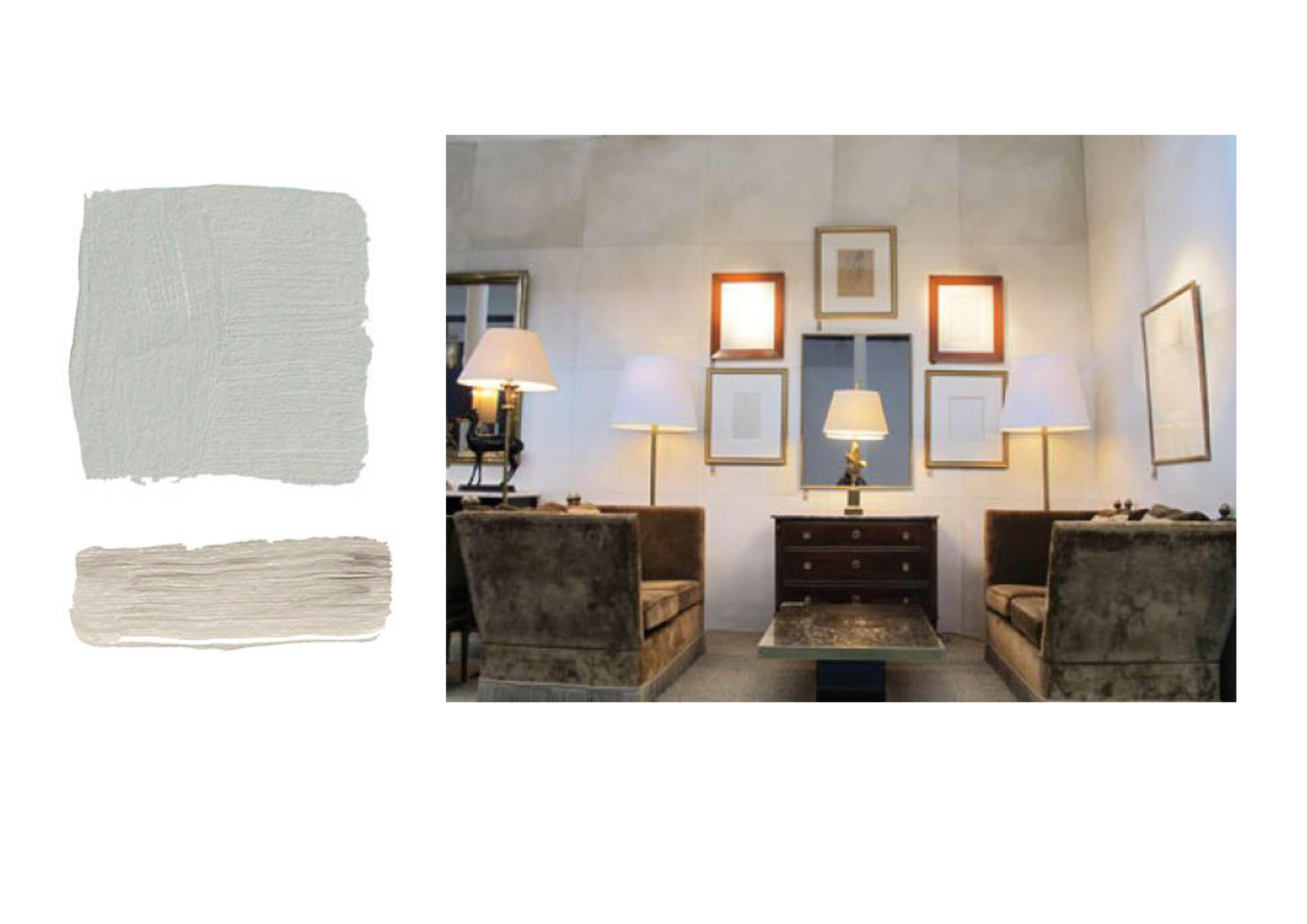 Pareti azzurro polvere i migliori colori delle pareti per for Divano blu colore pareti