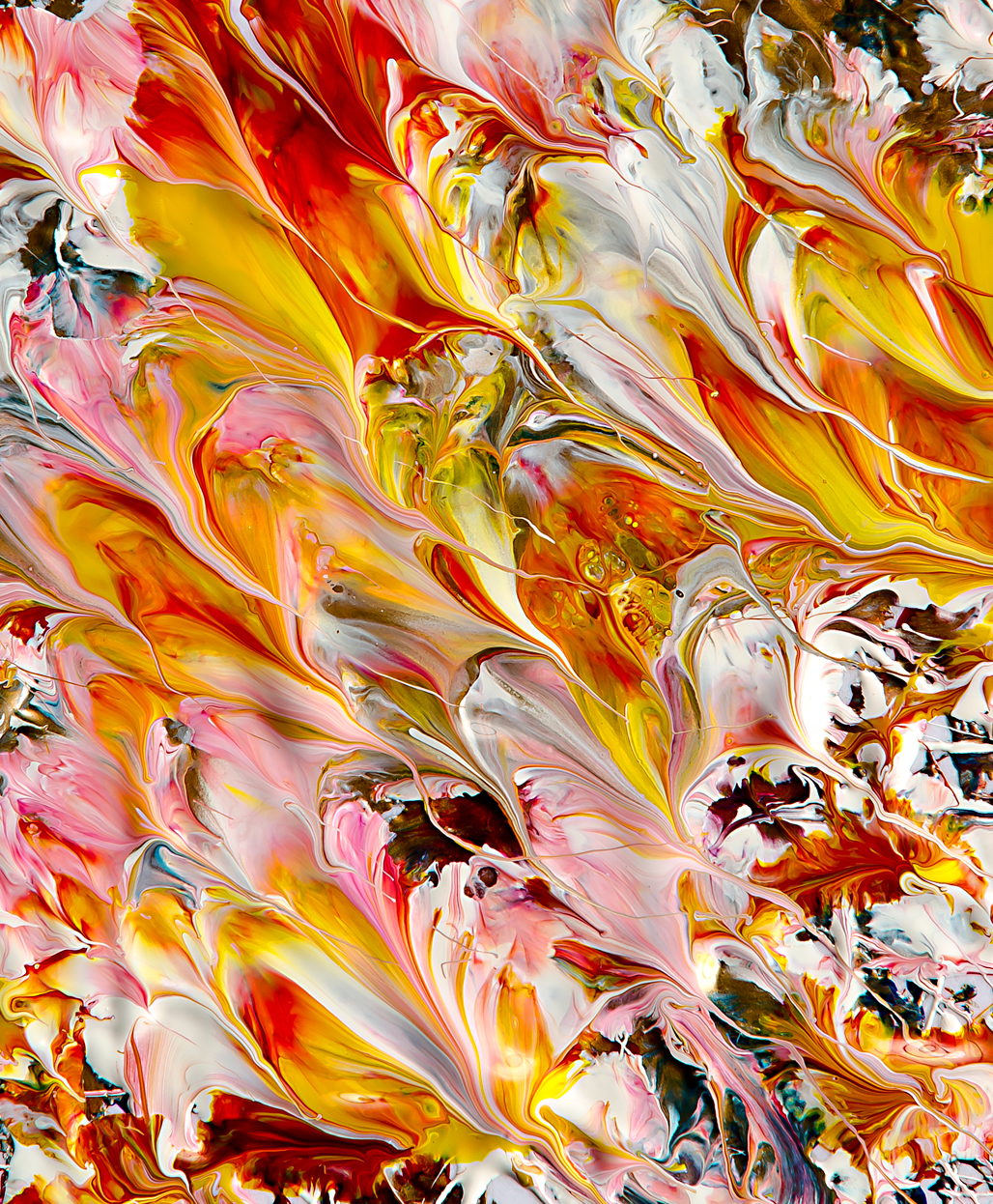 Abstract works of art by Mark Lovejoy