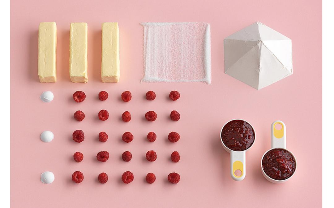 Raccontare le ricette attraverso i colori