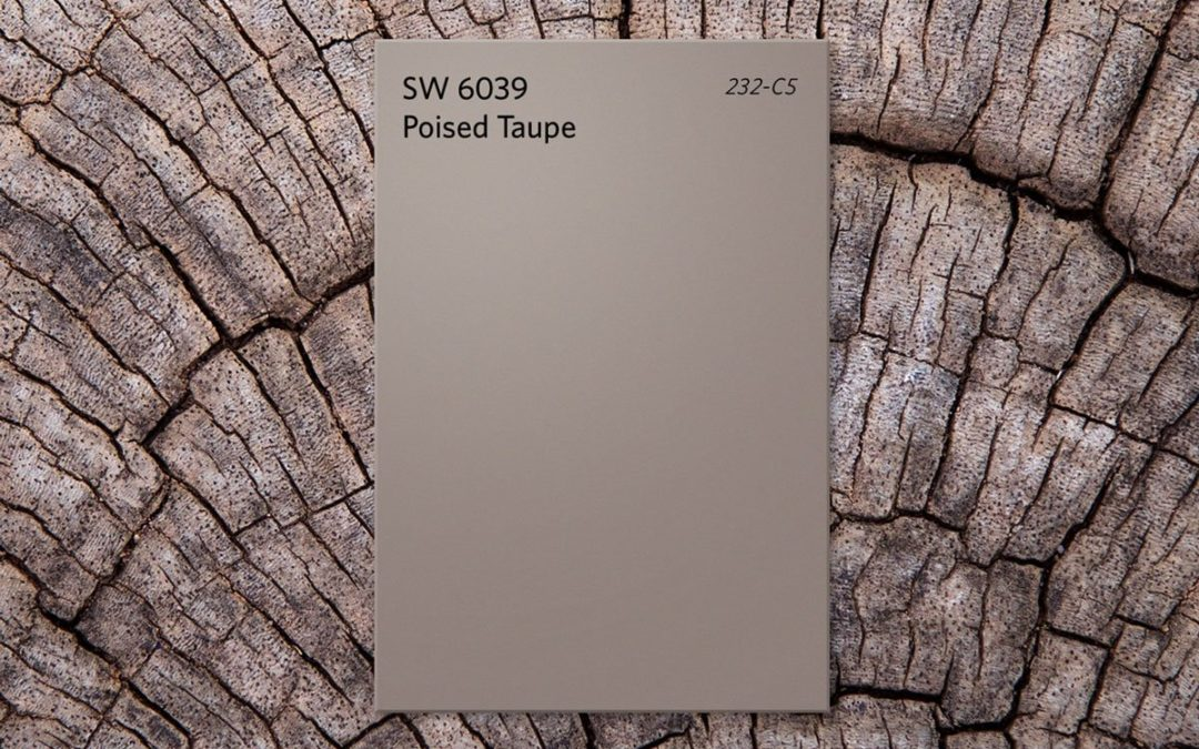 Neutral paint colours by Sherwin-Williams: Poised taupe