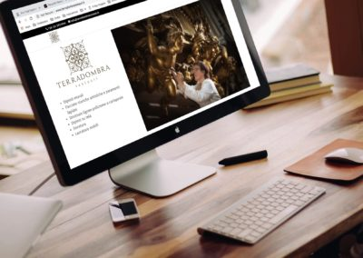 A website for artistic restorers